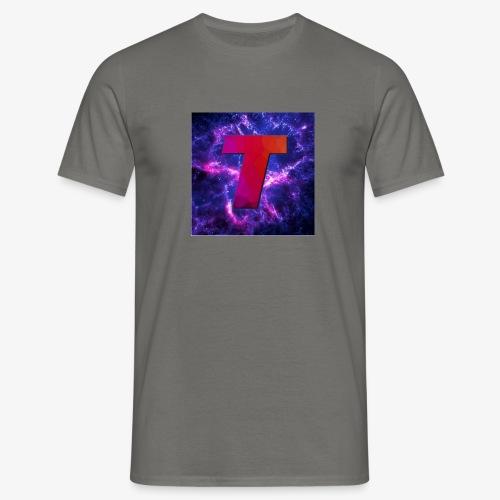 Tsunami Logo - T-skjorte for menn