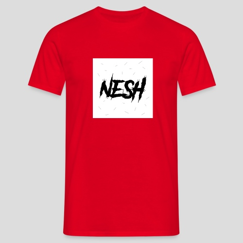 Nesh Logo - Männer T-Shirt