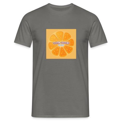 orangetextur - Männer T-Shirt