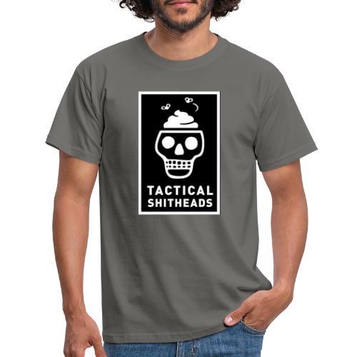 Tacshit Shitheadskull - Männer T-Shirt