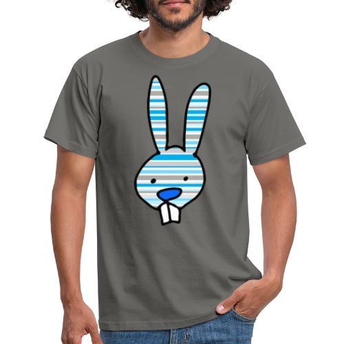 konijn cartoon - Mannen T-shirt