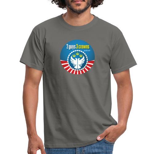 Classic Round 2G3C Logo - Men's T-Shirt