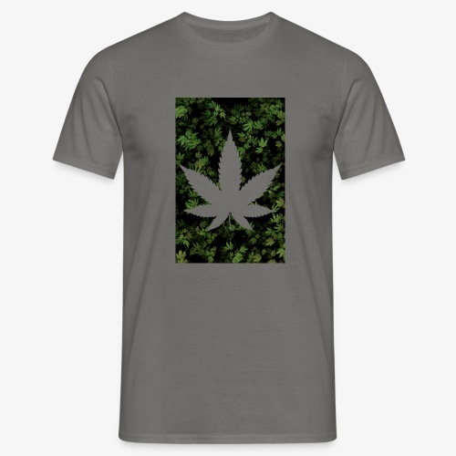 Weed_Design - Männer T-Shirt