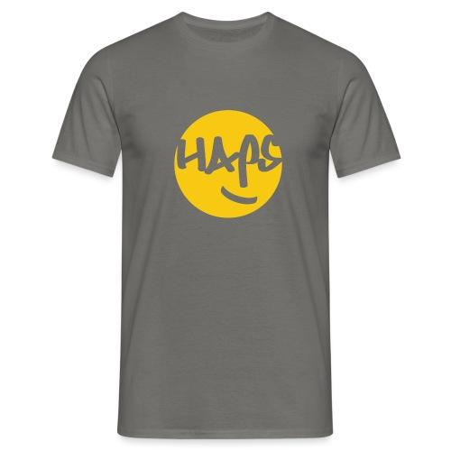 HAPS Yellow Logo - Men's T-Shirt