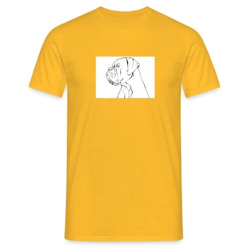 ritratto di un cane - Maglietta da uomo