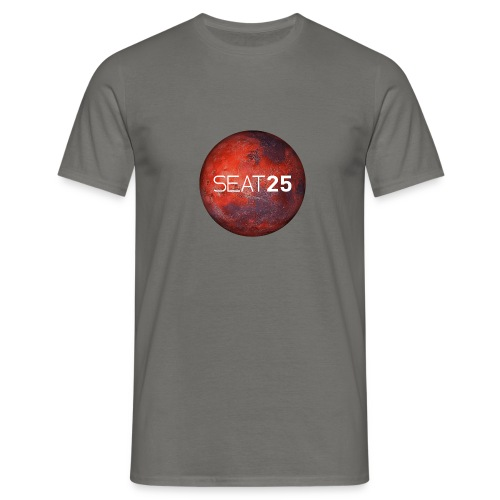 Mars and Logo - Men's T-Shirt