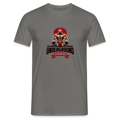 underground fitness - Männer T-Shirt