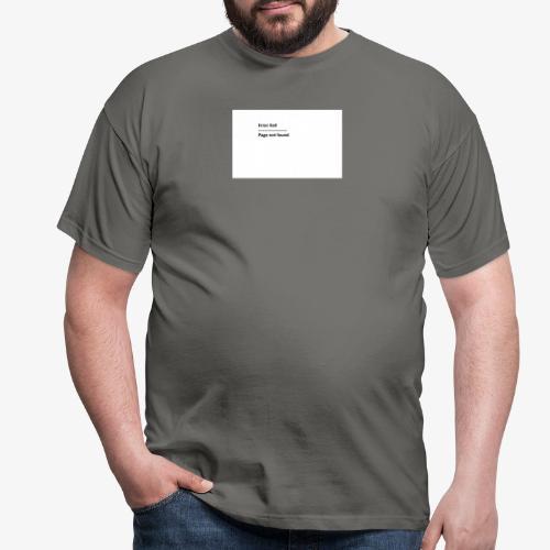 Error 4o4 - T-skjorte for menn