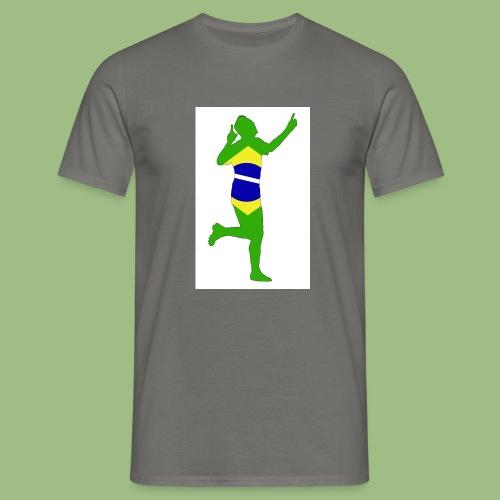 Neymár Brazil - T-shirt herr