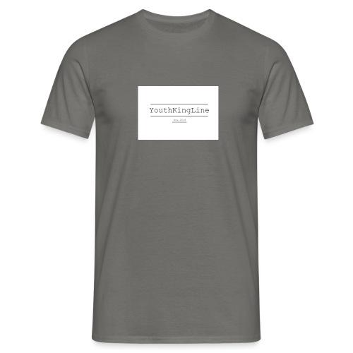 YouthKingline White T-shirt - Men's T-Shirt