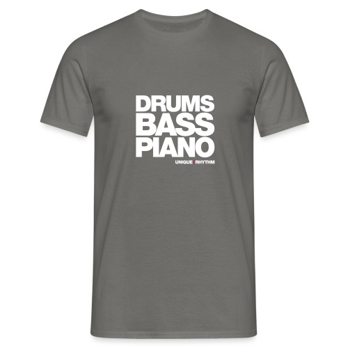 Drums Bass Piano - Men's T-Shirt