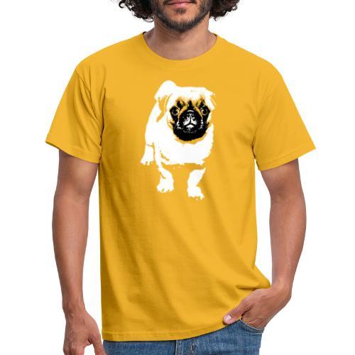 Mops Hund Hunde Möpse Geschenk - Männer T-Shirt