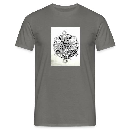 guerriere celtique entrelacs bretagne femme - T-shirt Homme