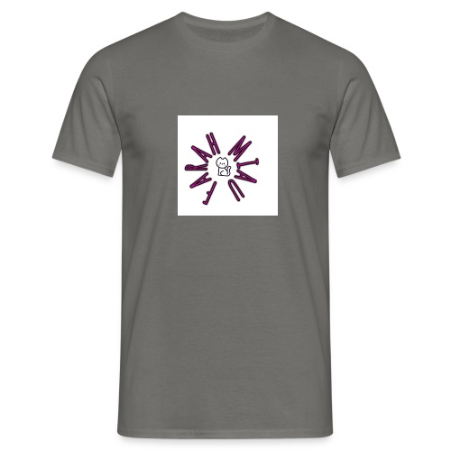 Cara miau logo - Camiseta hombre