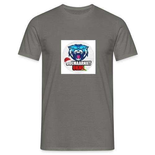 DoeMaarNiet.Okhe - Mannen T-shirt