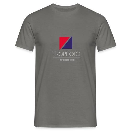 logo trykk pro - T-skjorte for menn
