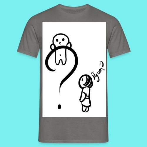 Qué? - Camiseta hombre