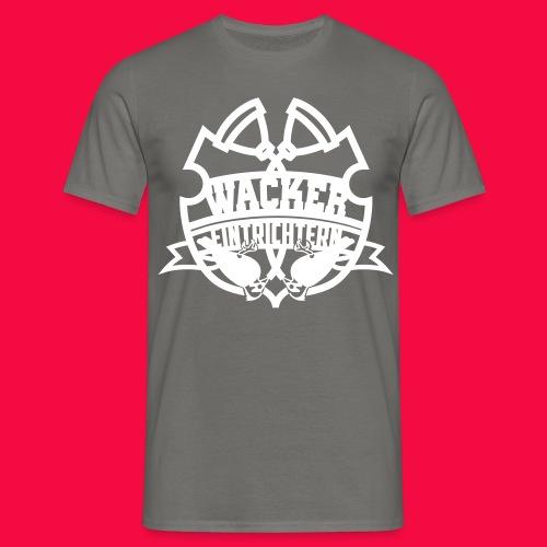SGWappenWeiß - Männer T-Shirt