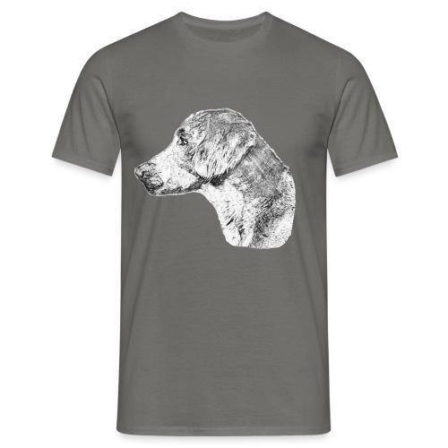 Langhaar Weimaraner - Männer T-Shirt