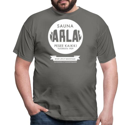 Arla - musta - Miesten t-paita
