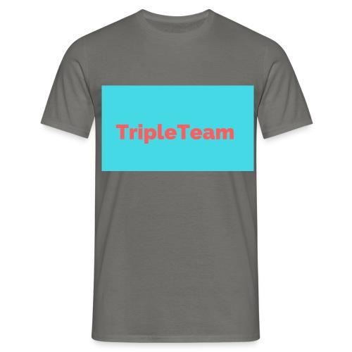 TripleTeam Logo - Mannen T-shirt