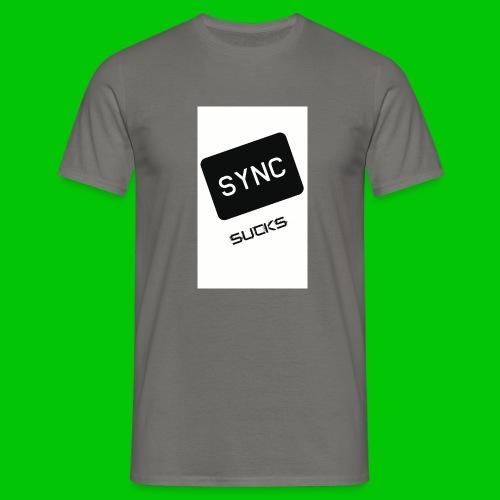 t-shirt-DIETRO_SYNK_SUCKS-jpg - Maglietta da uomo