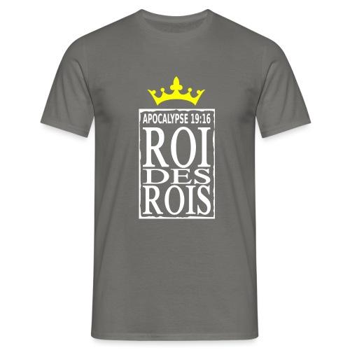 rdrWhite RefOver CrownYel - T-shirt Homme
