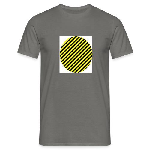 varninggulsvart - T-shirt herr
