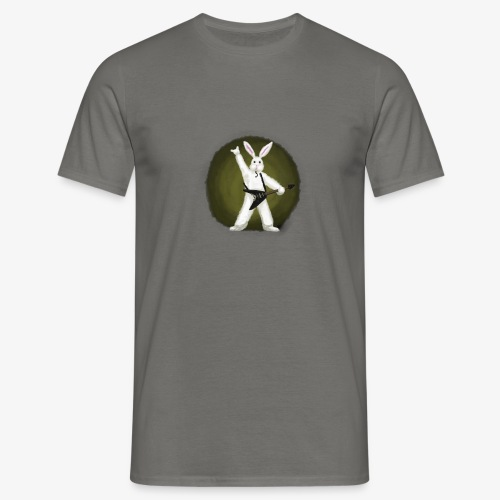 Metal Bunny - T-skjorte for menn