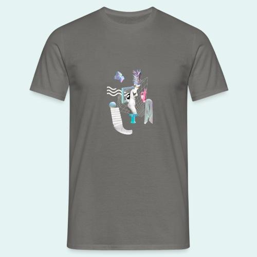 Virtual plaza - Herre-T-shirt