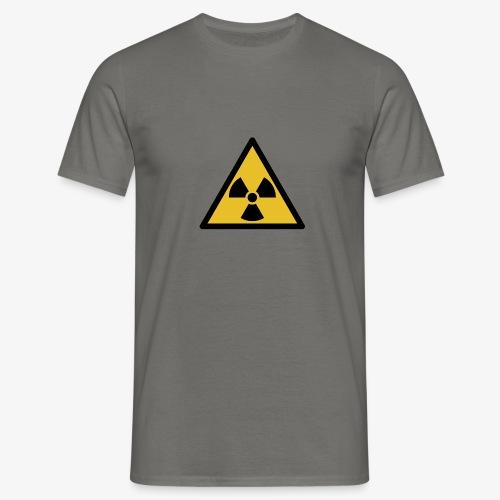 Radioactive svg png - Mannen T-shirt