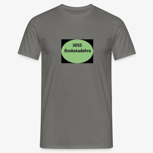 Krokstadelva - T-skjorte for menn