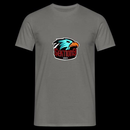 Sektion9 Logo Schwarz - Männer T-Shirt