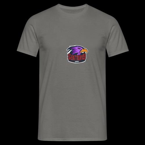 Sektion9 logo lila - Männer T-Shirt