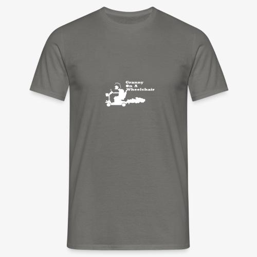 g on wheelchair - Men's T-Shirt