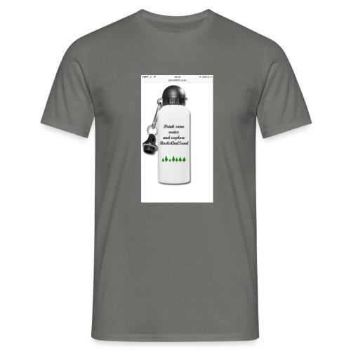 RocksAndSand adventure bottle - Men's T-Shirt