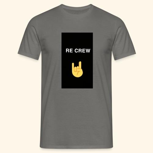 Re Crew T-shirt - Männer T-Shirt