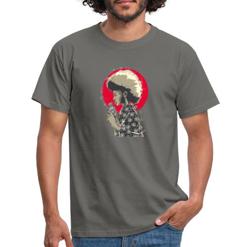 Afro Gun - Maglietta da uomo