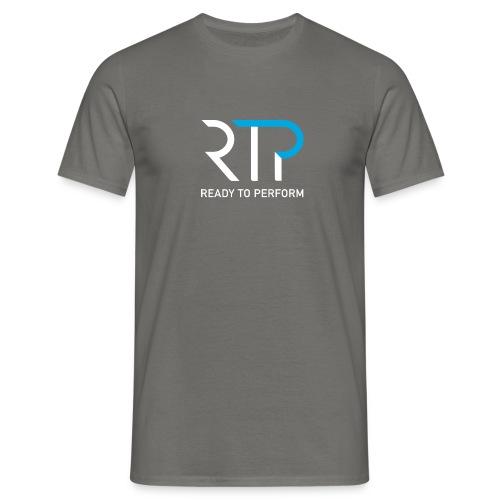 RTP byline white - T-shirt herr