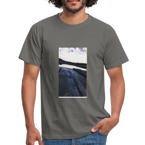 Zachód na roztoczu - Koszulka męska