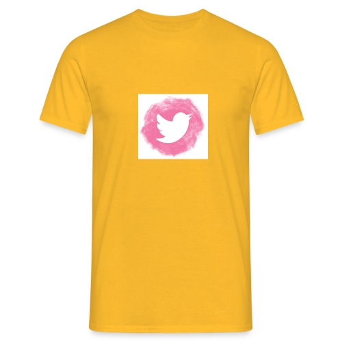 pink twitt - Men's T-Shirt