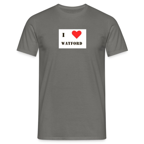 lovewatford - Men's T-Shirt