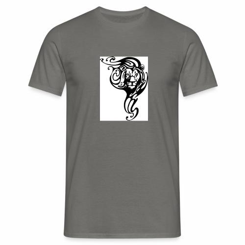 Leone tribale - Maglietta da uomo