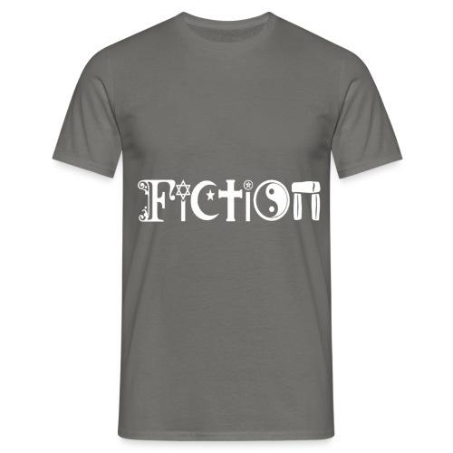 Fiction weiss - Männer T-Shirt