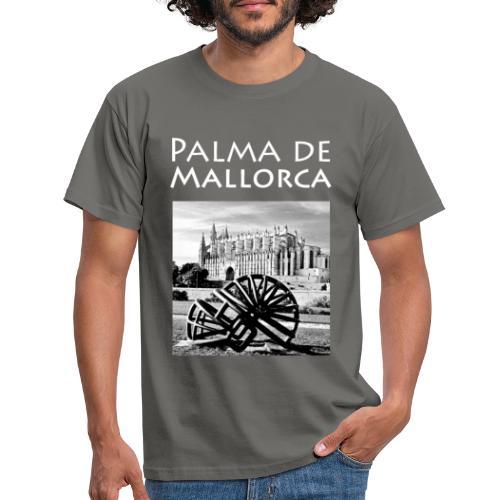 Palma de Mallorca mit Cathedrale Heiligen Maria - Männer T-Shirt