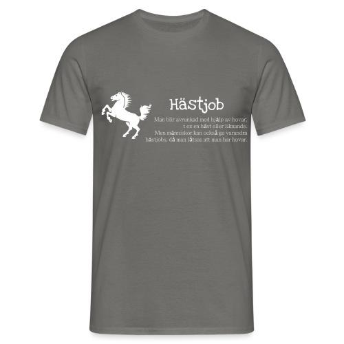 Hästjob - T-shirt herr