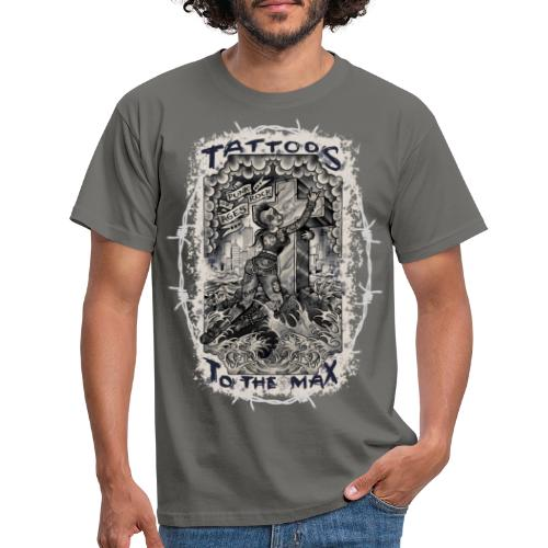 Punk Rock Of Ages Tattoos to the Max - Männer T-Shirt