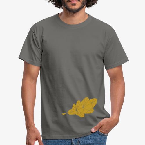 Eiche Blatt geometrisch - Männer T-Shirt