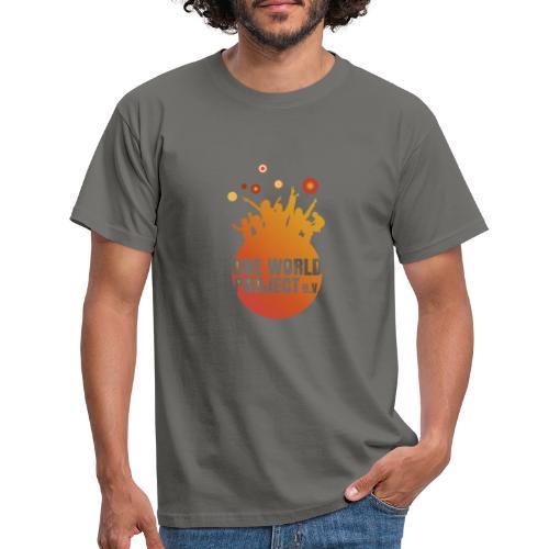 One World Project e. V. - Logo - Männer T-Shirt