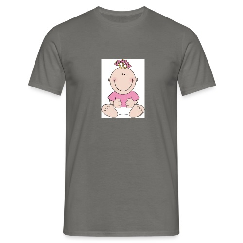 rompertje meisje - Mannen T-shirt